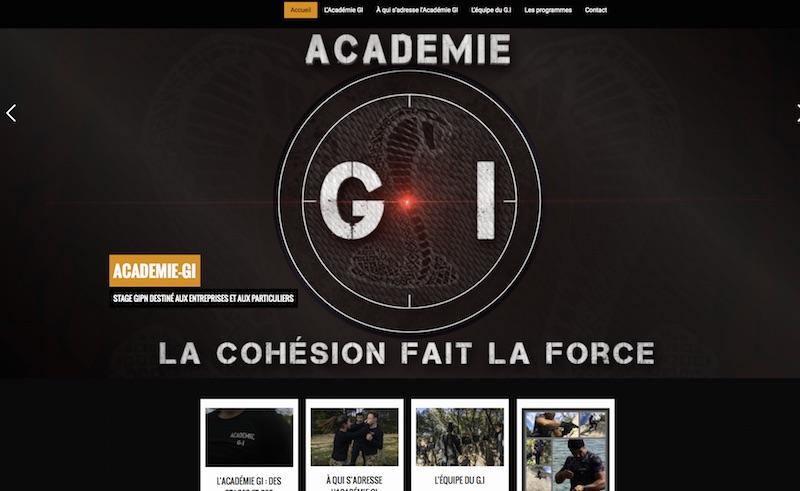 Site web : Académie GI