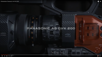 [Test] Panasonic AG DVX 200