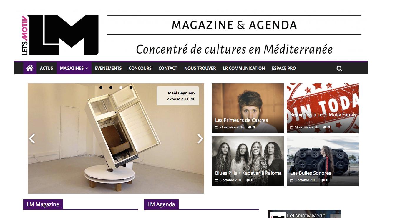 [Site Web] Let's Motiv Méditerranée