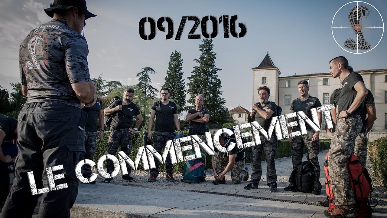 [Académie-GI]Stage Sept 2016 – Le commencement