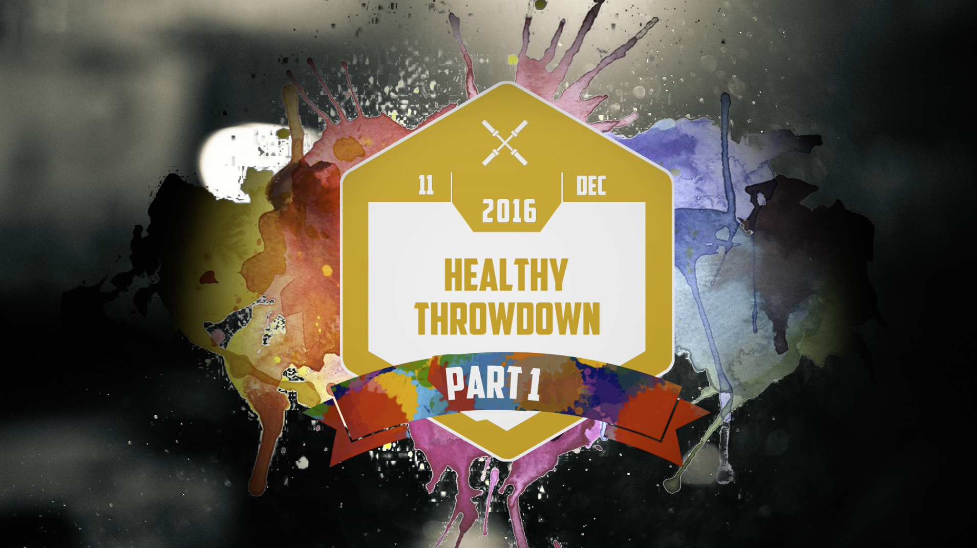 [Crossfit] Healthy Throwdown Part 1